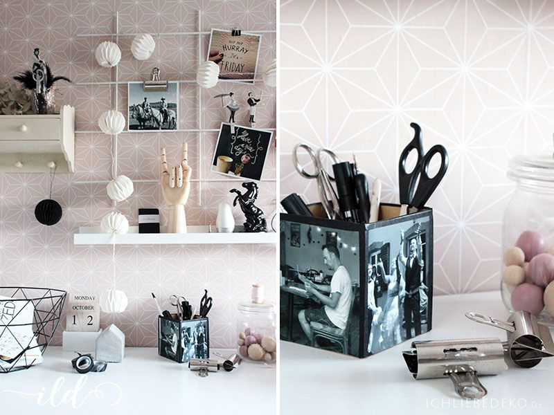 dekoration mit fotos f r ein gem tliches zuhause geschenke pinterest fotogeschenke. Black Bedroom Furniture Sets. Home Design Ideas