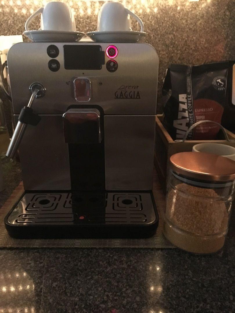 Gaggia brera espresso machine in black espresso machine