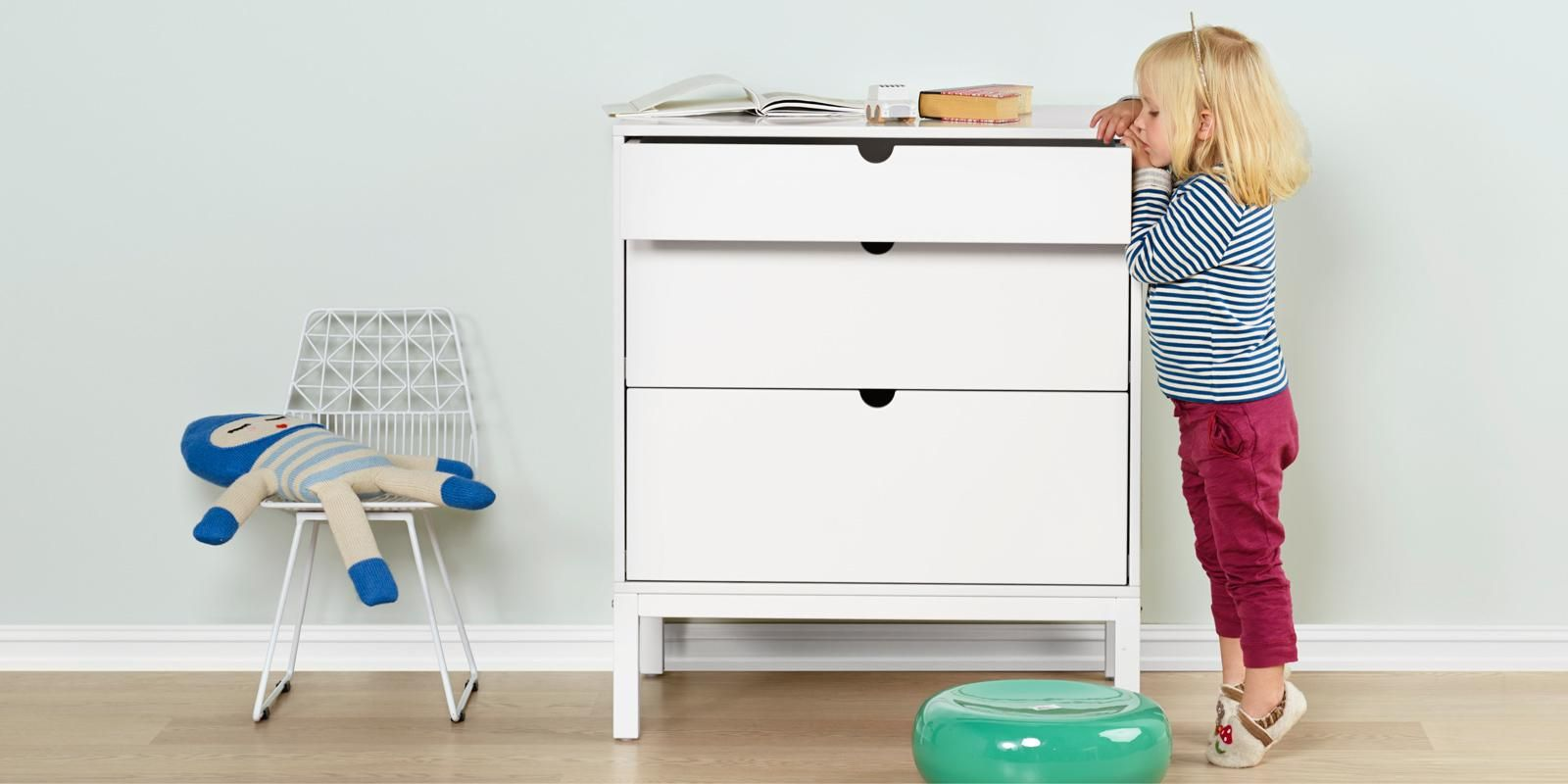 Stokke Home Dresser – Modern spacious dresser with baby changing ...