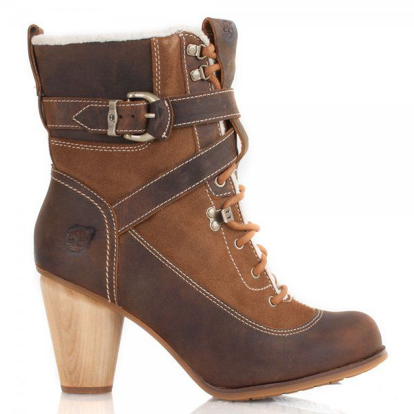 ladies timberland heels