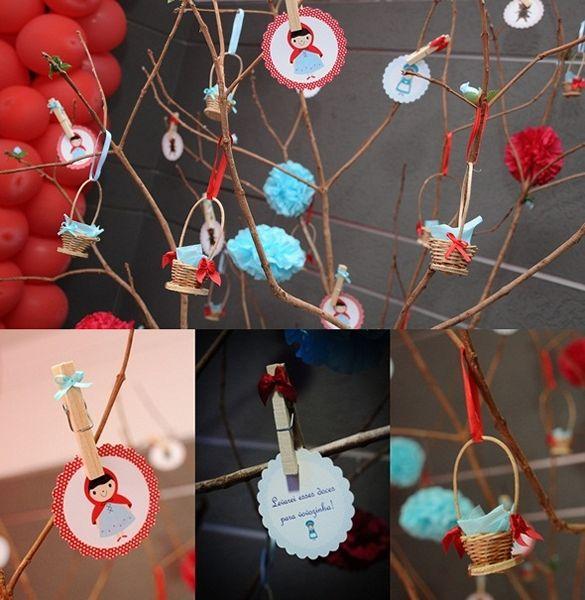 7 decoracao_chapeuzinho_vermelho, decoracao_aniversario_diferente, aniversario_tecido, aniversario_provençal