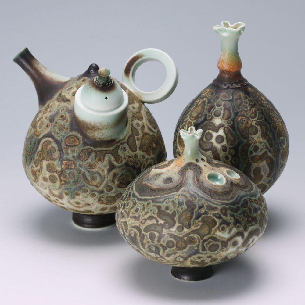 New works by Geoffrey Swindell   Ceramic teapots, Handmade