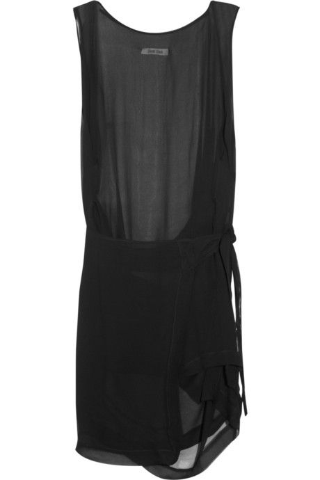 Damir Doma Chiffon wrap dress