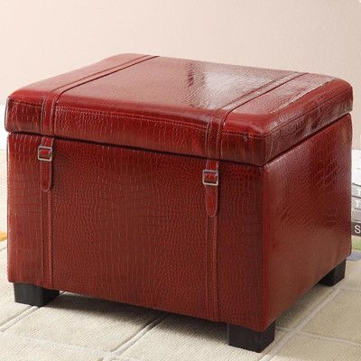 Astounding Homestar Inspirations By Broyhill Leather Storage Ottoman Dailytribune Chair Design For Home Dailytribuneorg