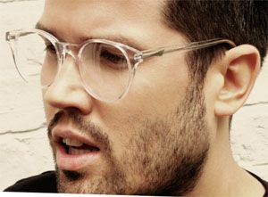 latest eyewear trends  Men\u0027s eyewear trends \u2013 Transparent eyeglasses. Maybe these will ...