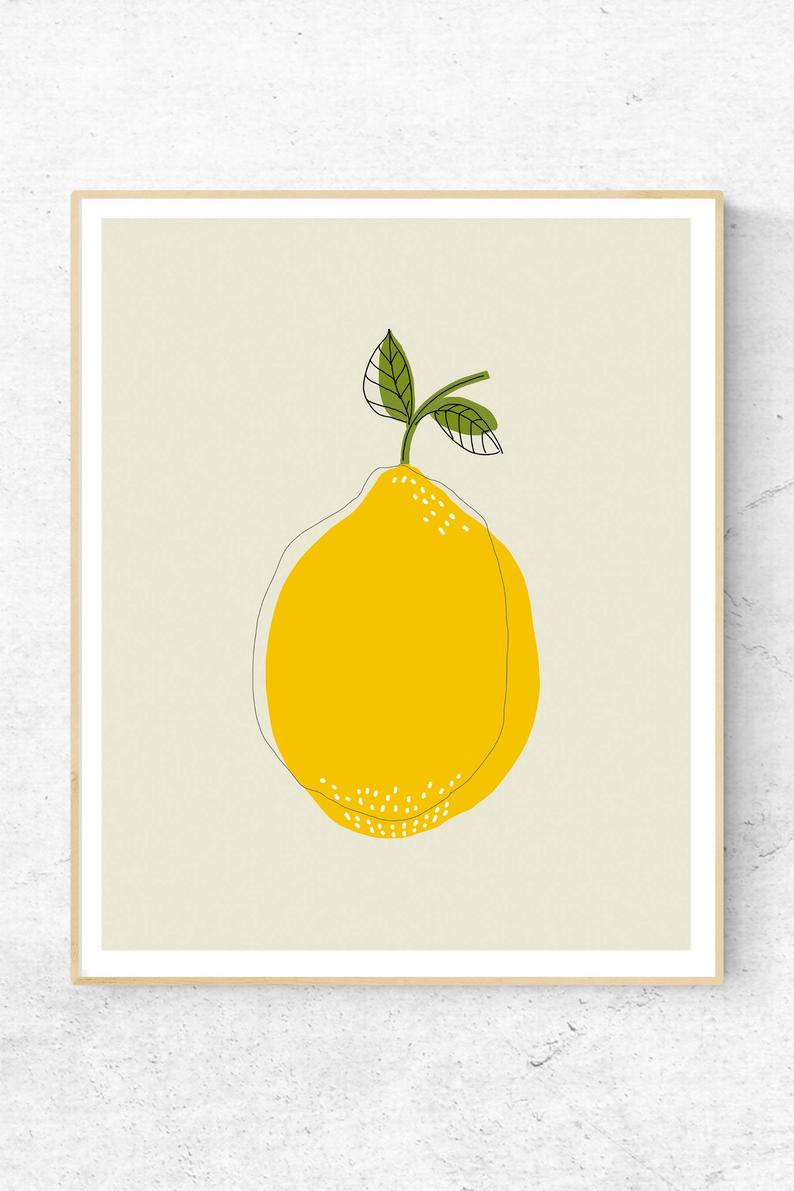 Photo of Lemon Printable
