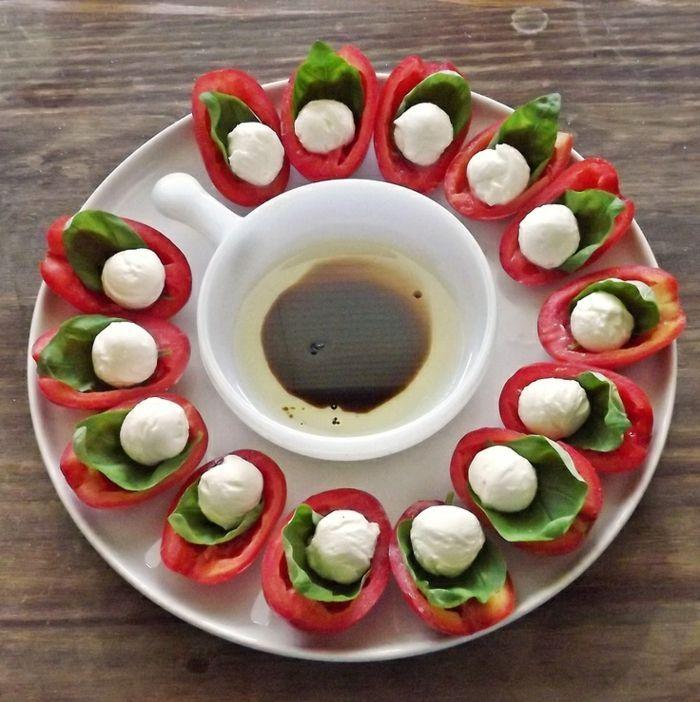 pingl par carline lubin sur l gumes en 2018 pinterest salade amuse gueule et recette salade. Black Bedroom Furniture Sets. Home Design Ideas