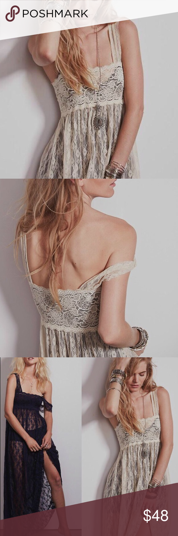 Lace dress cover up  Lace Maxi Dress COVERUP Floral Tea Black White Boutique  My Posh