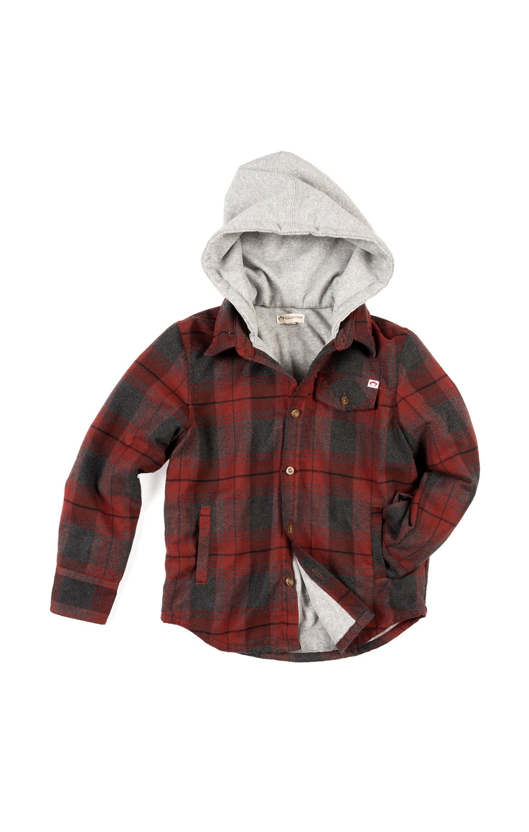 7b795b8528a9 Glen Hooded Shirt in 2018