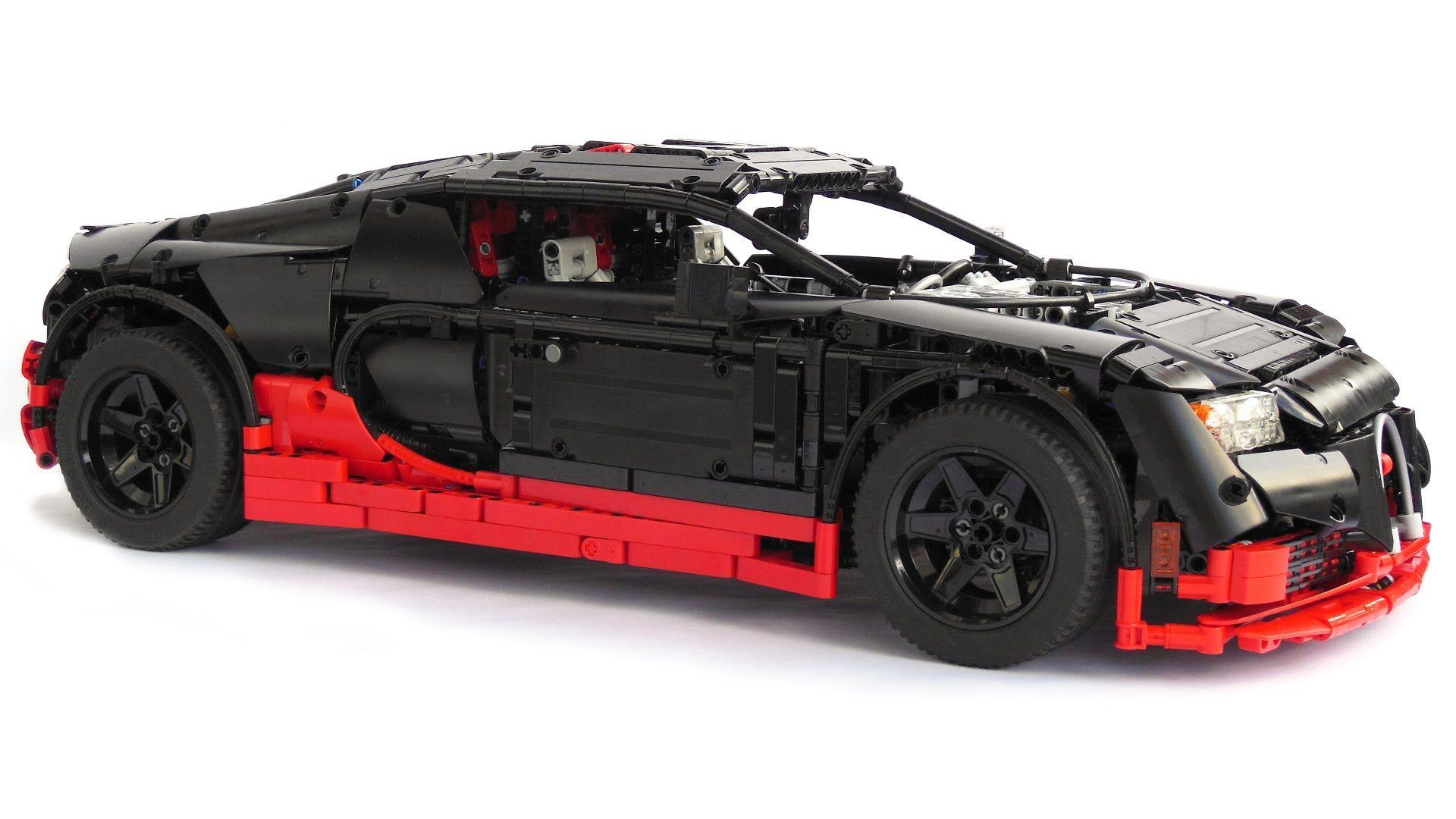 Lego Technic Bugatti Veyron Super Sport Youtube Legotechnic