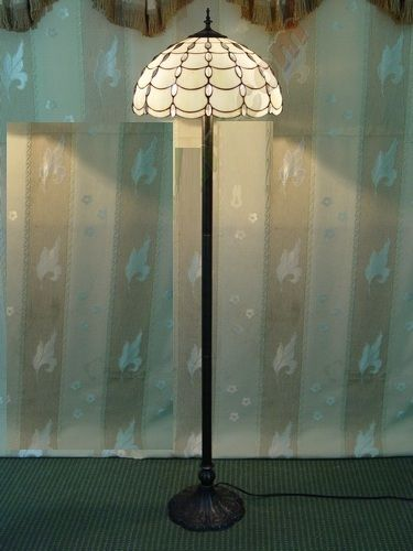 New white stained glass floor lamp handcrafted tiffany style light new white stained glass floor lamp handcrafted tiffany style light stand upright ebay mozeypictures Image collections
