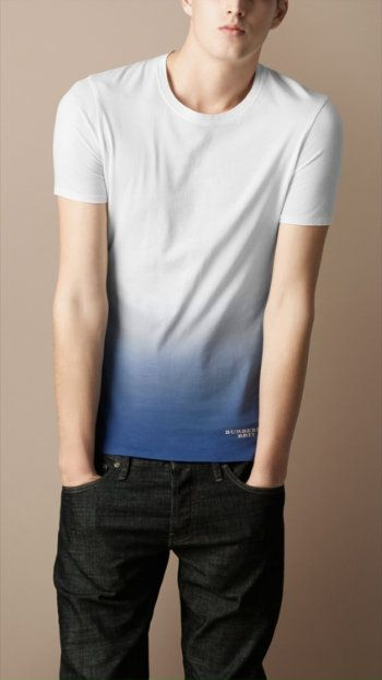 *Ombre Tees for men! (Burberry Brit).