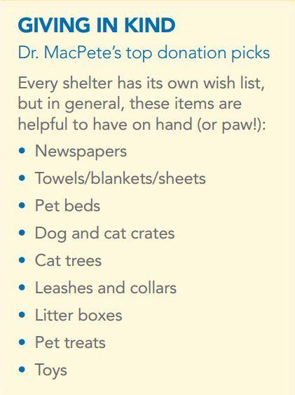 Animal Shelter Donation Ideas Animal Shelter Donations Animal Rescue Ideas Animal Shelter