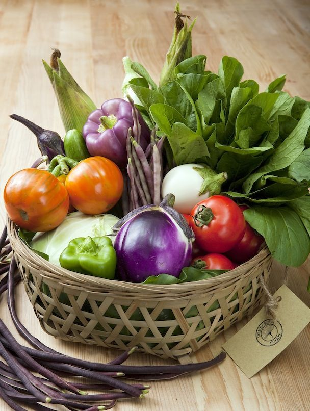 Baskets For Fruits And Vegetables In Your Kitchen Homegrown Food Vegetables Vegetable Basket