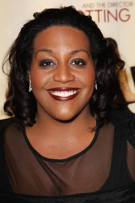 Alison Hammond at the UK premiere of Morning Glory in January 2011...