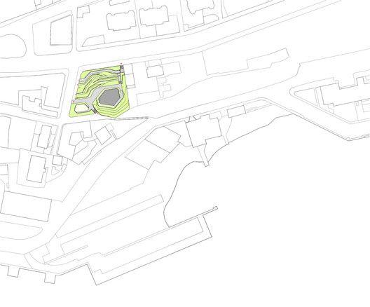 San Martín de la Mar Square,Site Plan