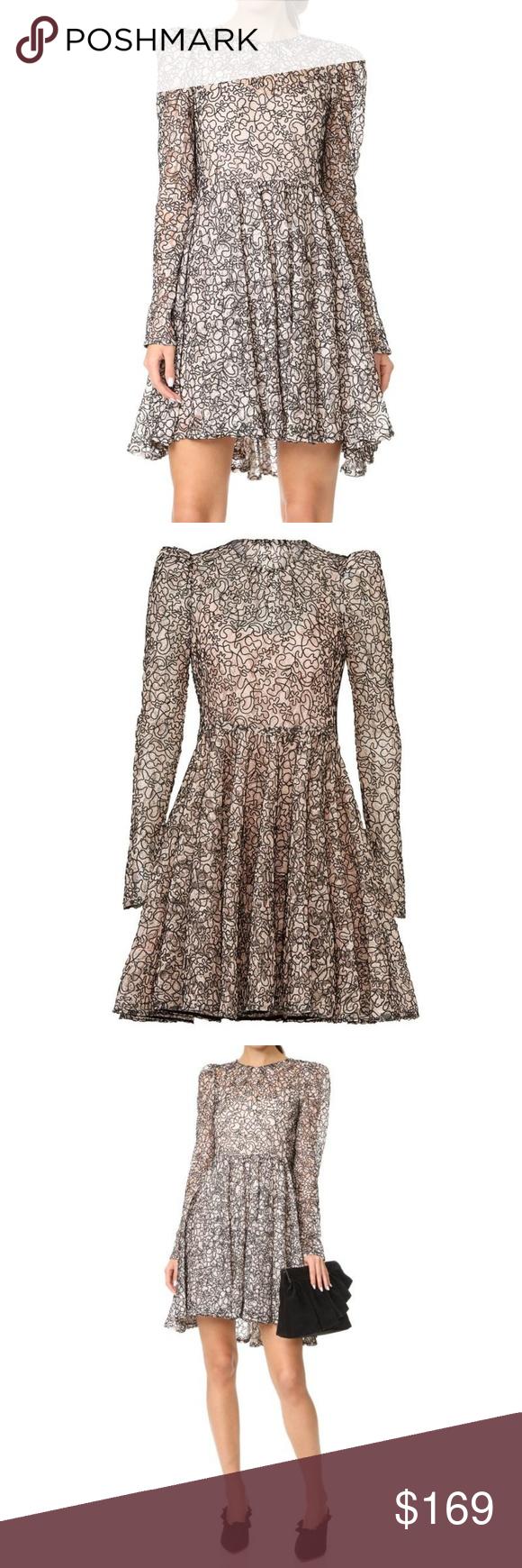 Womens Clothing Milly Blushblack Aria Dress Dresses Clothing
