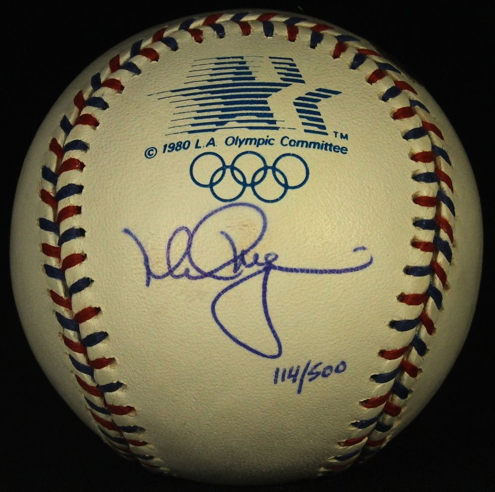 Mark McGwire Signed 1984 Official Olympic Baseball