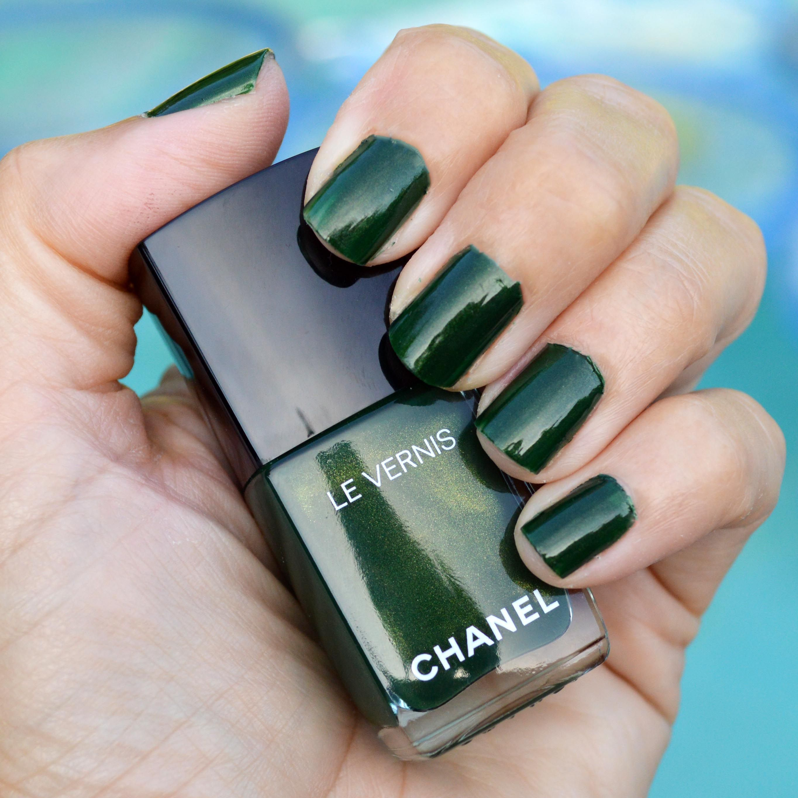 Chanel Emeraude nail polish for summer 2016 review | Nail polish ...