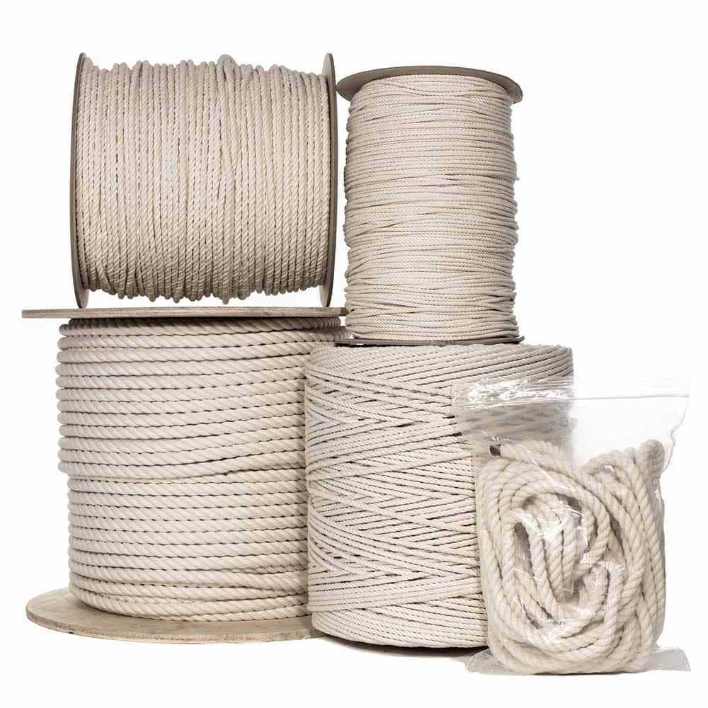 Natural Cotton Rope Cotton Rope Rope Crafts Diy Rope Crafts