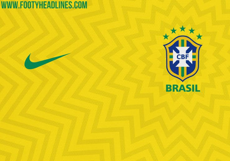 76c63f734 Brazil 2018 World Cup Kit Design Leaked - Footy Headlines