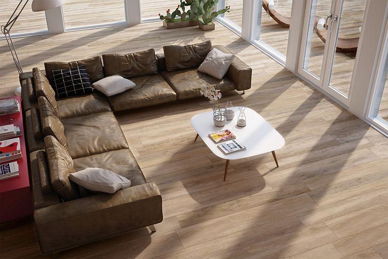 So kann Ihr neuer Wohnzimmer - Traum aussehen Feinsteinzeug in - fliesen im wohnzimmer