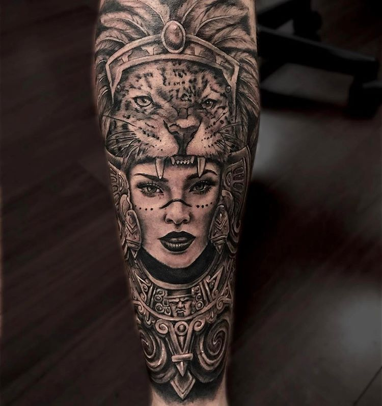 3d Tattoo With Images Aztec Tattoo Mayan Tattoos Aztec Tattoos Sleeve