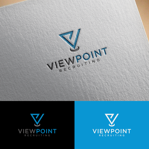 Viewpoint recruiting logo and business card for an hr recruiter viewpoint recruiting logo and business card for an hr recruiter colourmoves