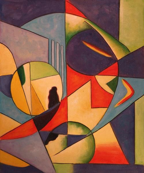 Image detail for -Art Reproduction Oil Painting - Kandinsky Paintings: Untitled ...