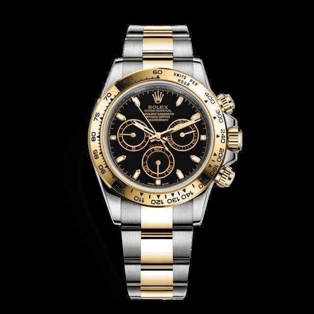 32ea0432ee3 Descubra o relógio Cosmograph Daytona em Rolesor amarelo - combinação de  aço 904L e ouro amarelo 18 quilates no Site Oficial Rolex. Modelo  116503