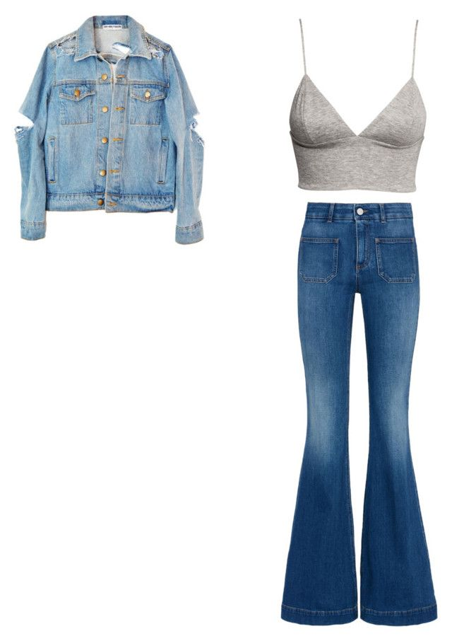 """bootcut"" by kitty-148 ❤ liked on Polyvore featuring H&M and STELLA McCARTNEY"