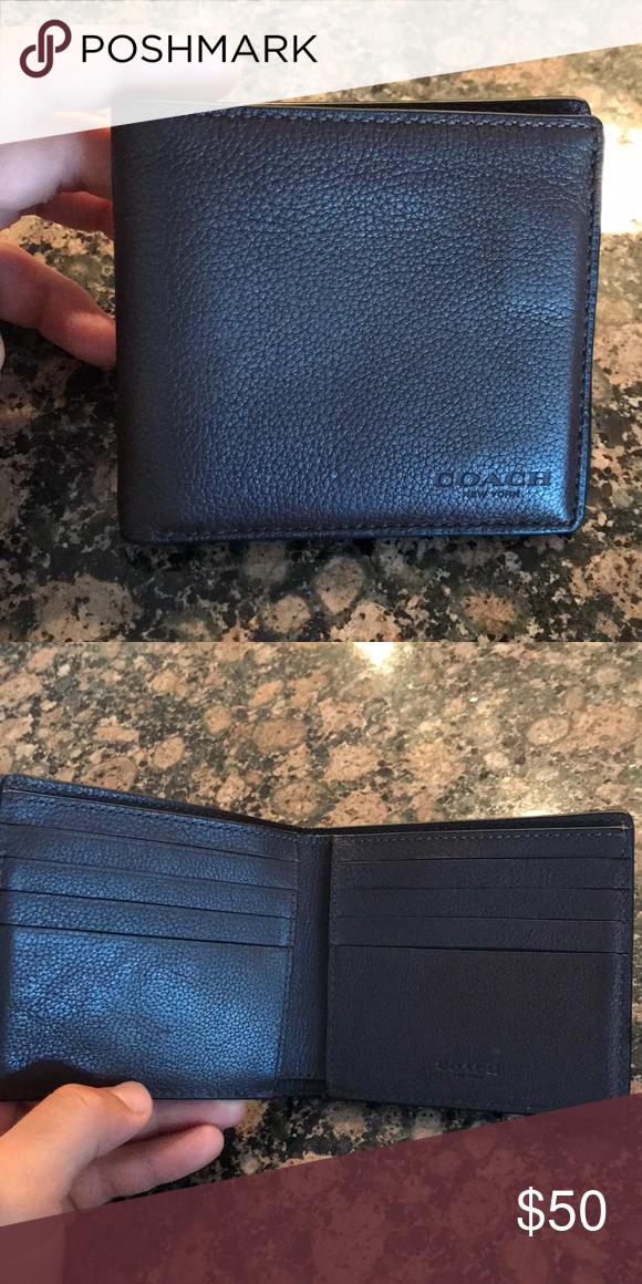 87883b69c6 Coach Men's Wallet Dark brown brand new Coach wallet Accessories ...