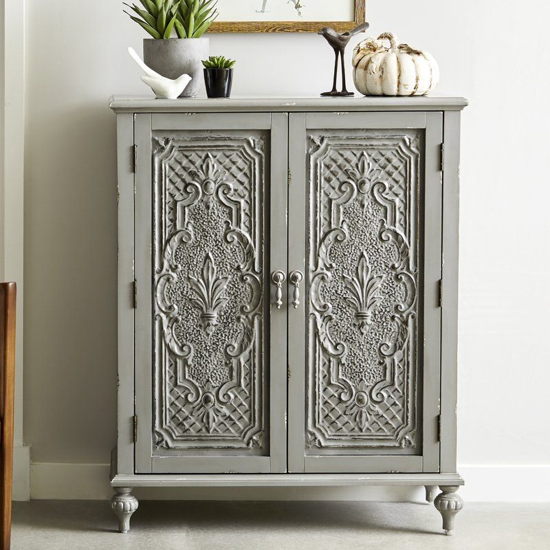 Wiest Ornate Front 2 Door Accent Cabinet Ornate Furniture Accent Chests And Cabinets Accent Doors