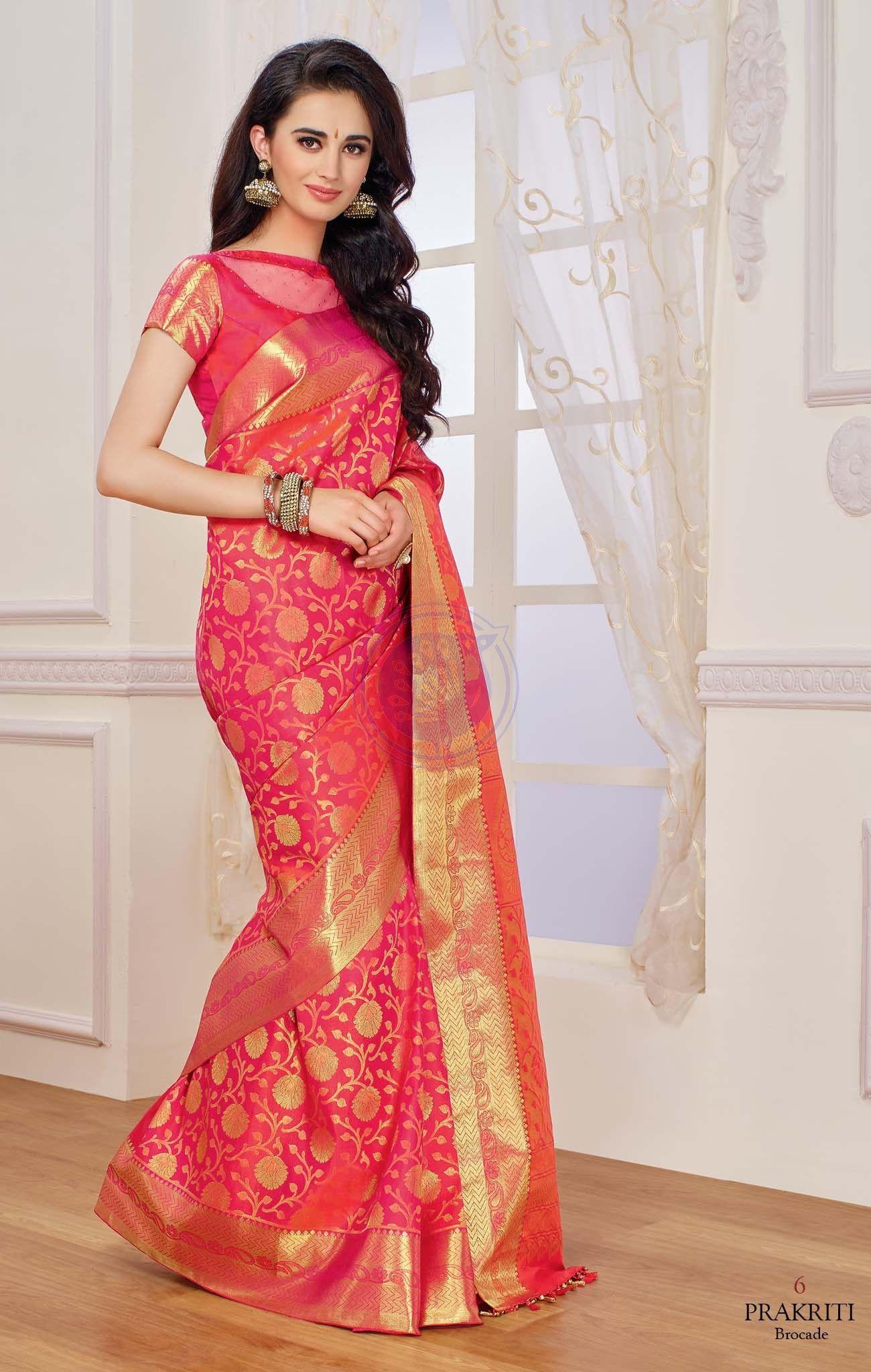 ad9c6187be Vivaha Branded Kanchipuram Silk Saree VBBS0006   suits   Silk saree ...