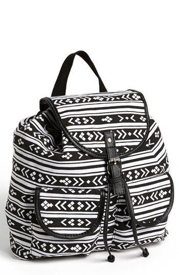 f99f4bb29462 Bag · Amici Accessories Print Canvas Backpack (Juniors) (Online Only) ...