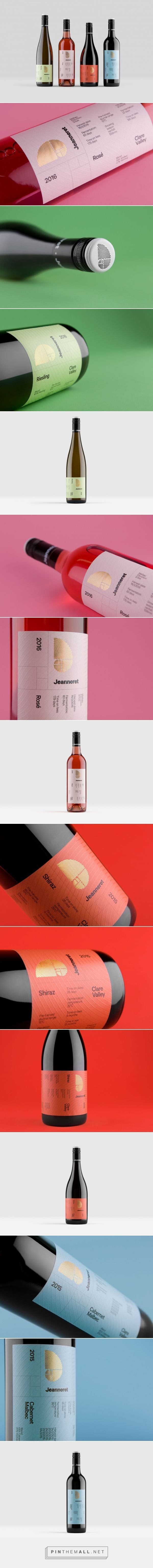 Jeanneret Wines Wine Packaging Design Graphic Design Packaging Wine Bottle Design