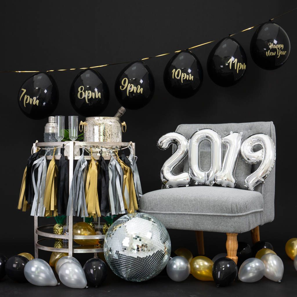 New Year's Eve Small Balloon Pop Countdown (With images