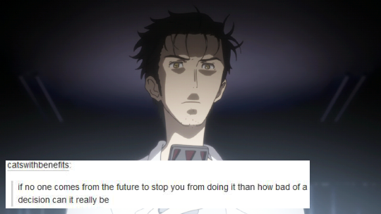Nekonyann Anime Quotes! Steins;Gate 5 Steins, Gate