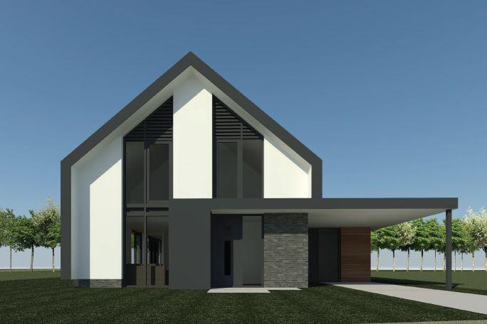 Nieuwbouw schuurwoning | Almelo - Ontwerp van AL architecten voor ...