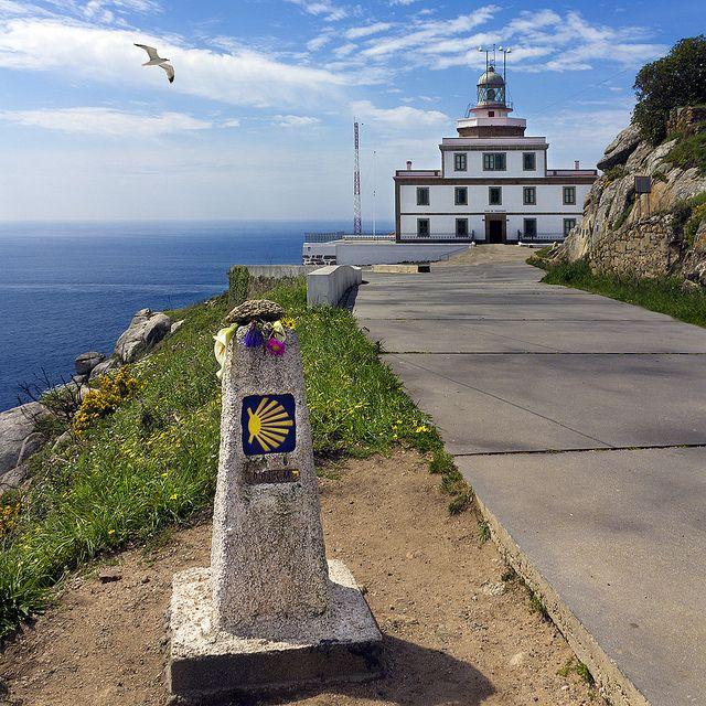 Faro De Fisterra Km 0 Camino De Santiago Places In Spain Spain Travel