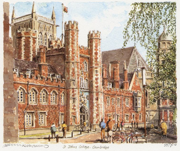St John's College - Portraits of Britain