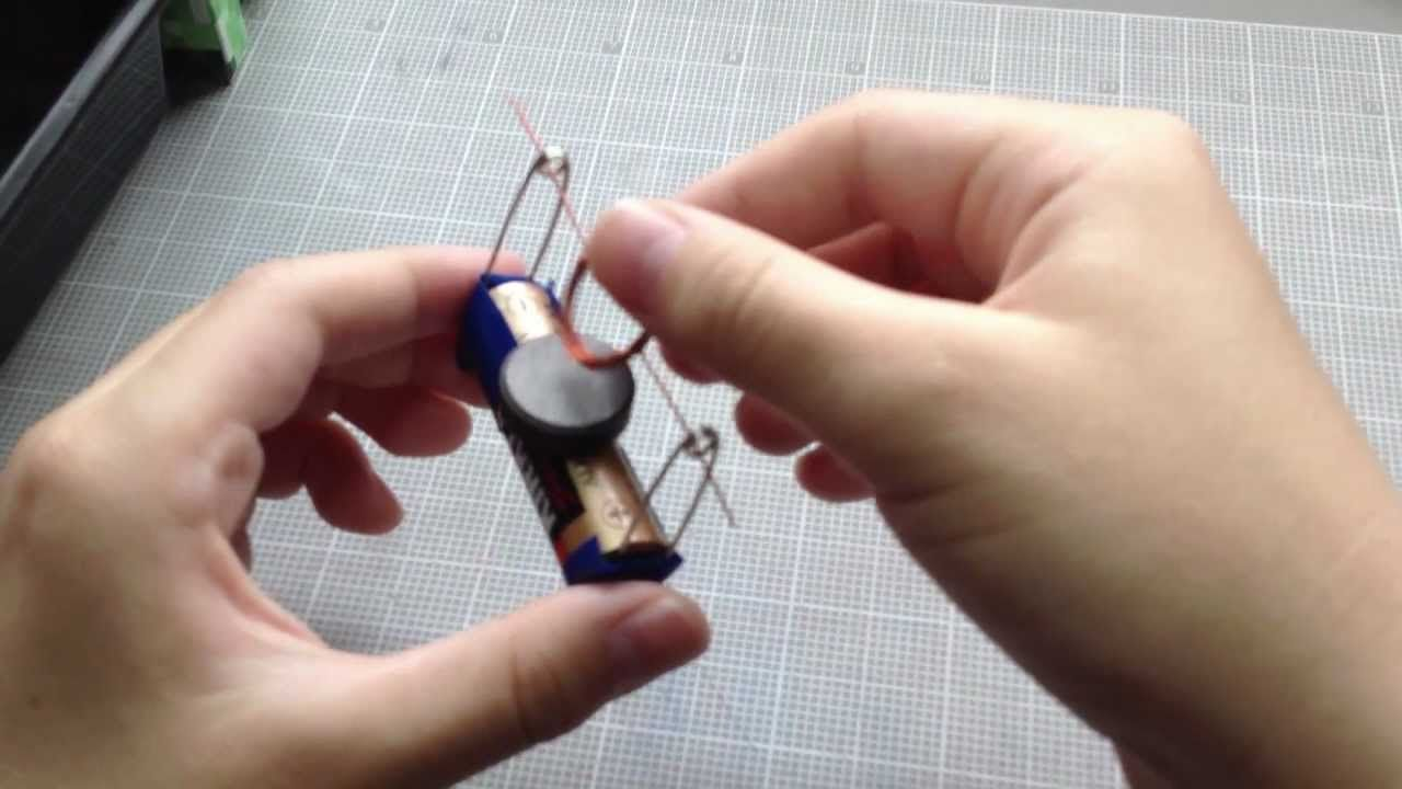 How to build a simple electric motor. | education | Pinterest ...