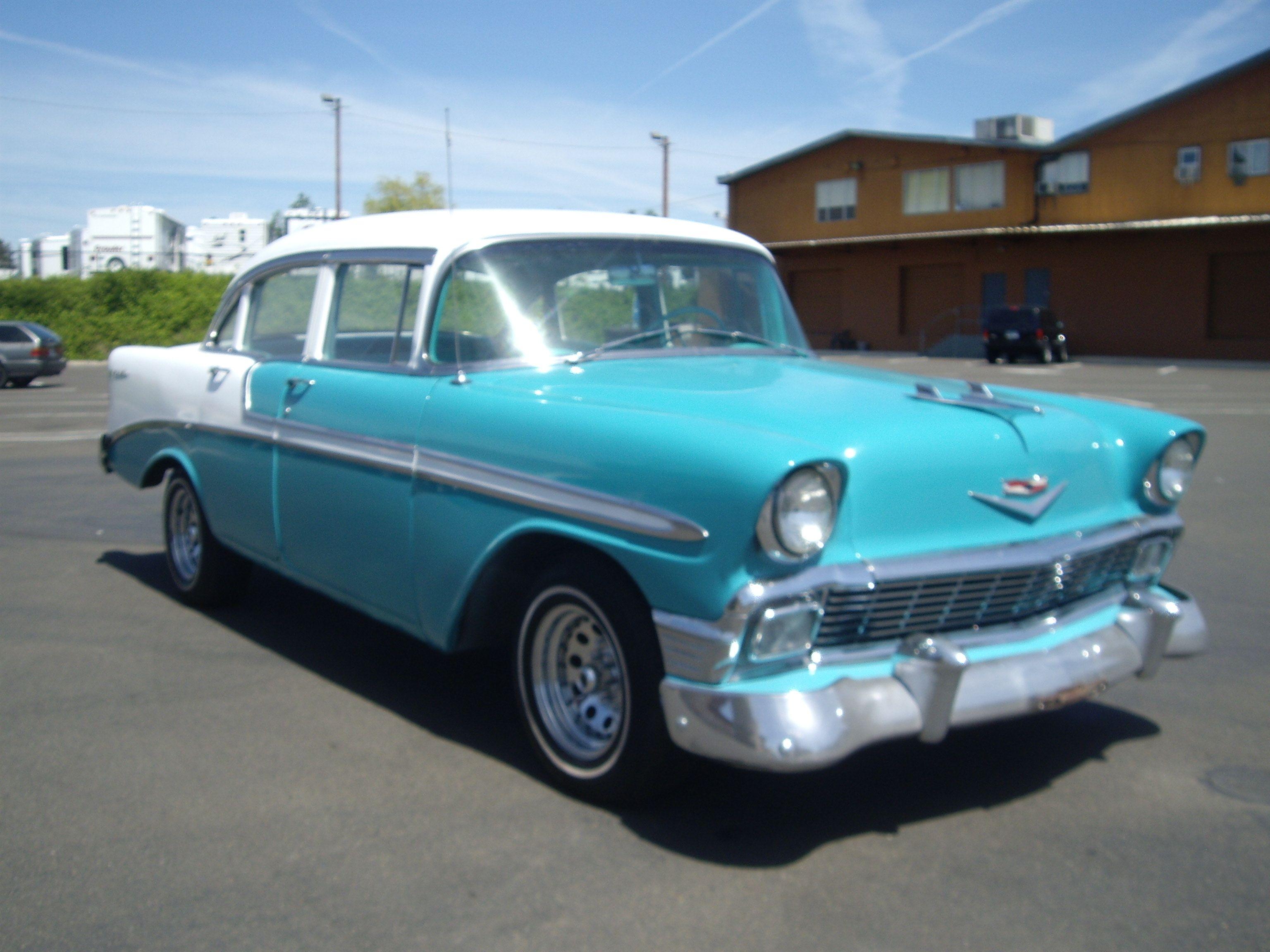 Door bel 1965 chevrolet bel air two door sedan i had a for 1956 belair 4 door