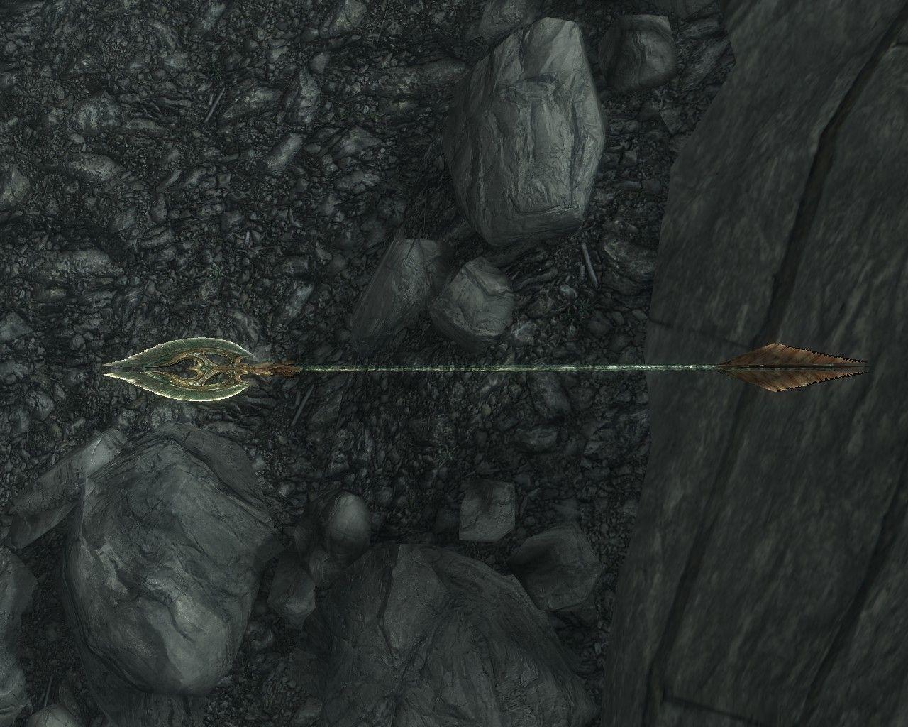 Image result for glass arrows skyrim