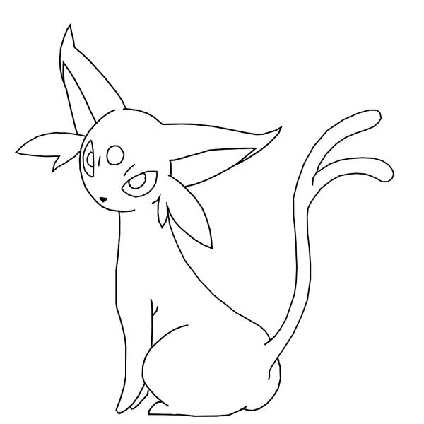 Pin by spetri 4kids@gmail com on coloring 4 kids pokemon Espeon and Umbreon Pokemon Coloring Pages Garchomp Coloring Pages vaporeon coloring page