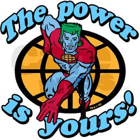 Image result for the power is yours gif