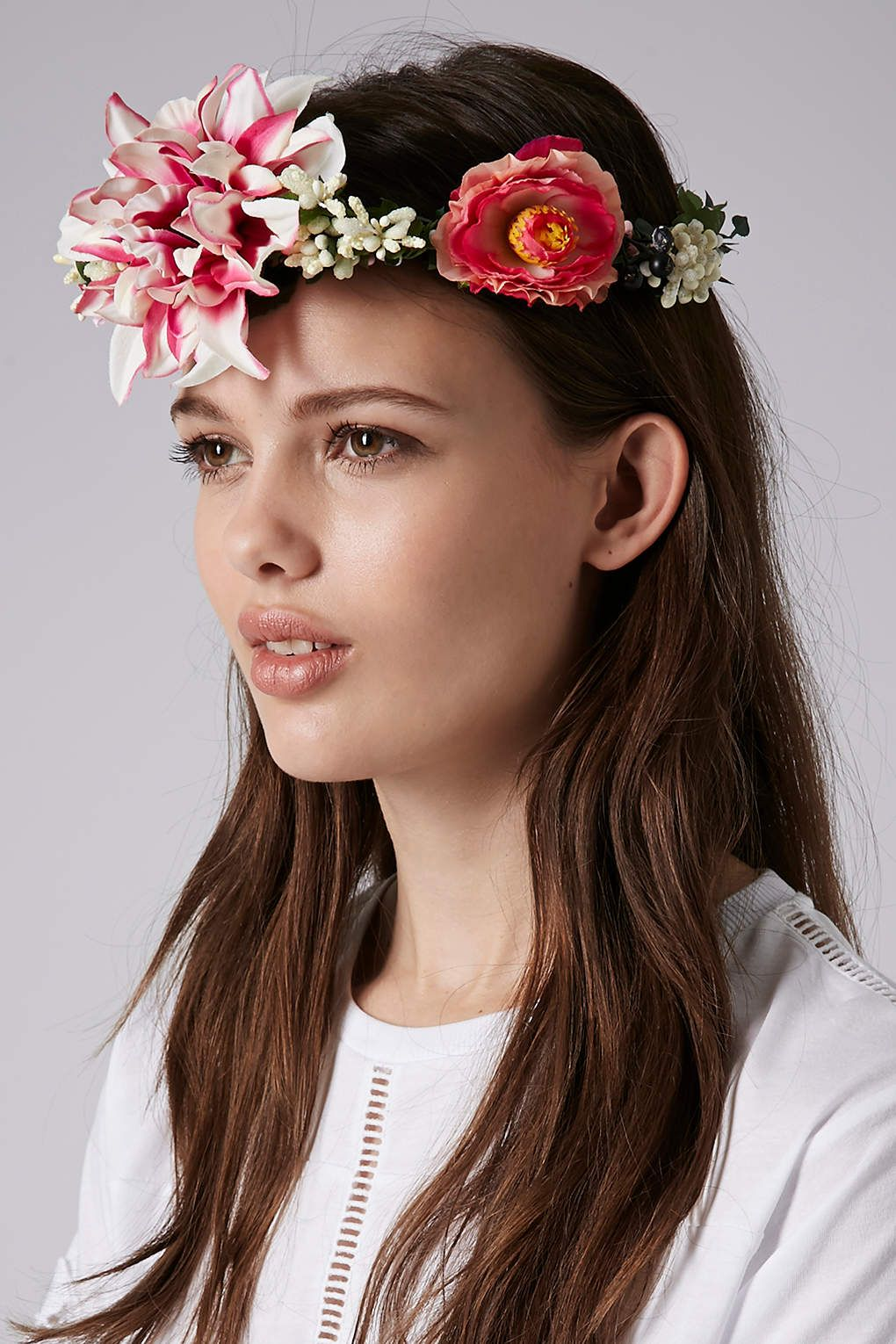 Berry Garland Hair Accessories Bags Accessories Topshop