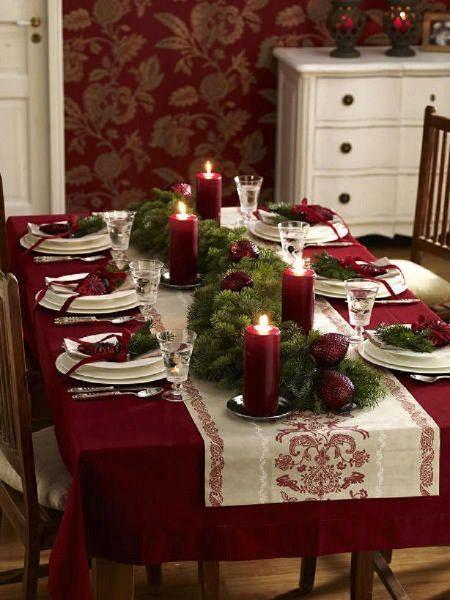 10 inspirations de tables pour Noël - Floriane Lemarié