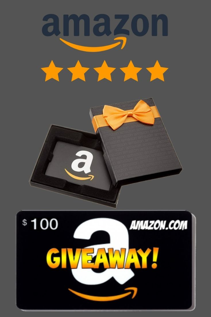Amazon Gift Card Giveaway Get A 100 Amazon Gift Card Free Amazon Gift Card Free Digital Gift Card Amazon Gift Cards