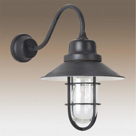 Vintage richmont stallamp antiek zwart buitenlamp pinterest antiek zwart en vintage - Ikea appliques verlichting ...